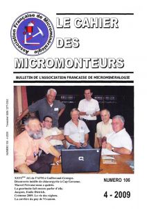 cahier des micromonteurs 106