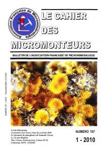 cahier des micromonteurs 107