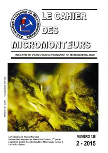 cahier des micromonteurs 128