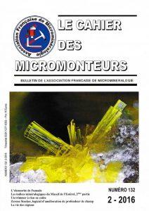 cahier des micromonteurs 132