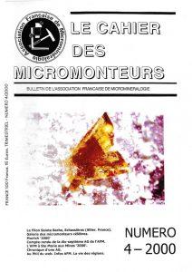cahier des micromonteurs 70