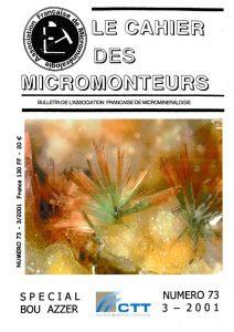 cahier des micromonteurs 73