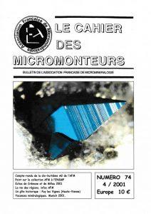 cahier des micromonteurs 74
