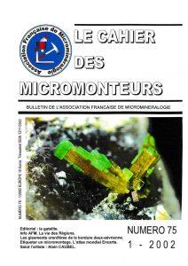 cahier des micromonteurs 75