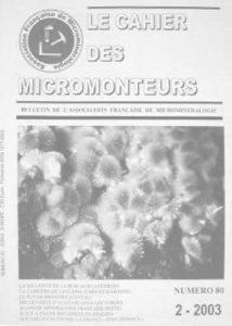 cahier des micromonteurs 80