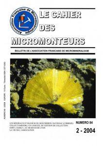 cahier des micromonteurs 84