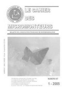 cahier des micromonteurs 87