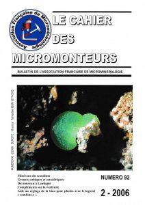 cahier des micromonteurs 92