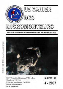 cahier des micromonteurs 98